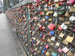 Love Locks in Cologne
